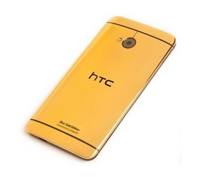 24ct Gold HTC One