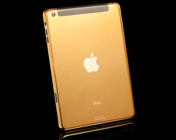 24ct Gold iPad mini with Retina display