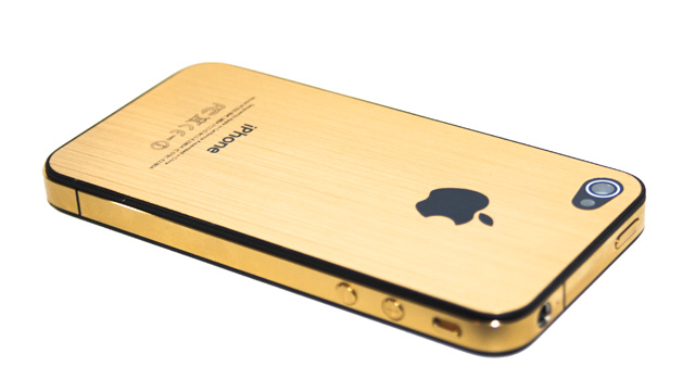 24ct Gold iPhone 4s